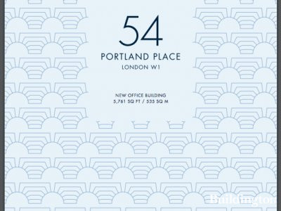 54 Portland Place brochure cover