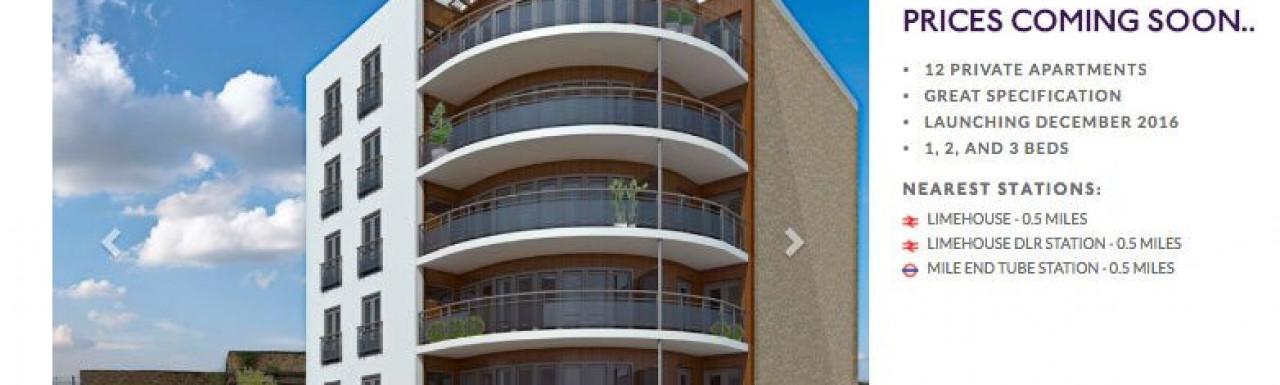 Sphere Apartments on Bridge website at bridge.co.uk in September 2016