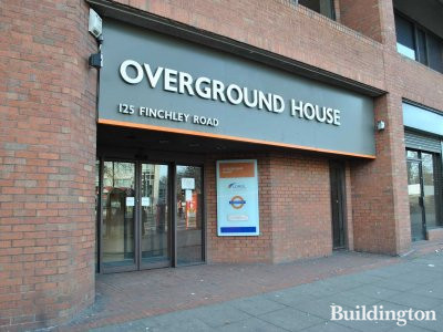 Overground House at 125 Finchley Road.