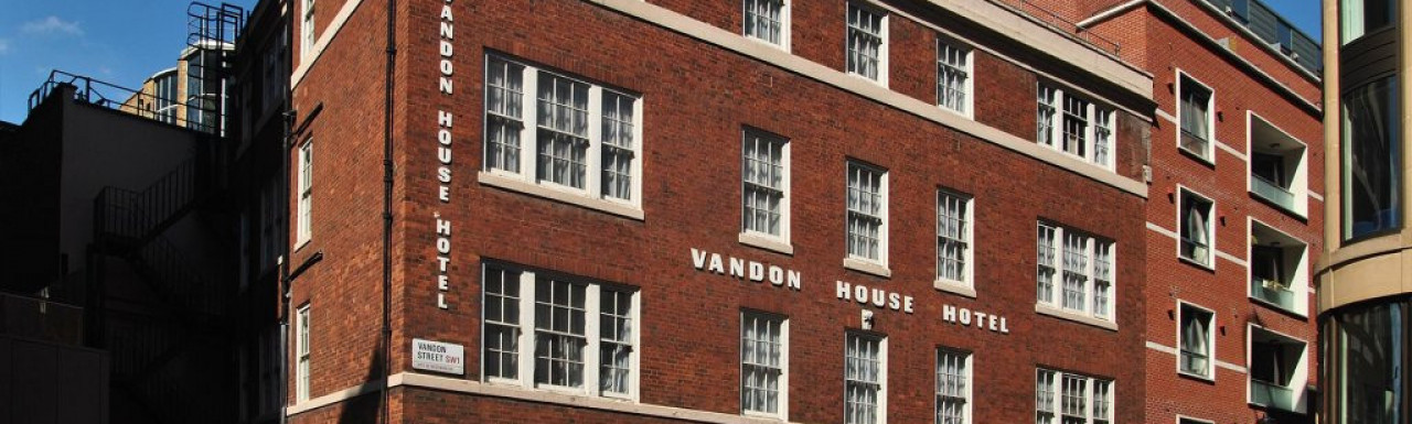 Vandon House in May 2013.
