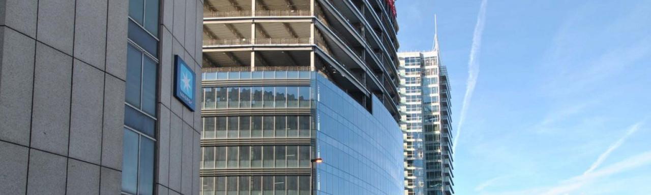 Aldgate Tower in November 2013.