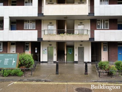 Marlow House in Hallfield Estate, London W2