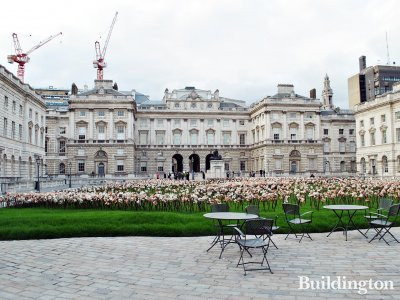 Somerset House in April 2012