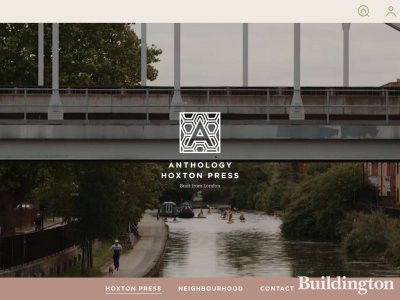 Hoxton Press on Anthology website Anthology.london