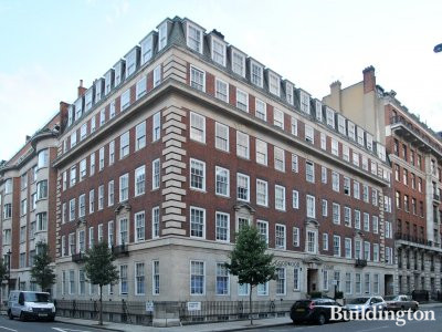 Goodwood Court on Devonshire Street in Marylebone, London W1.