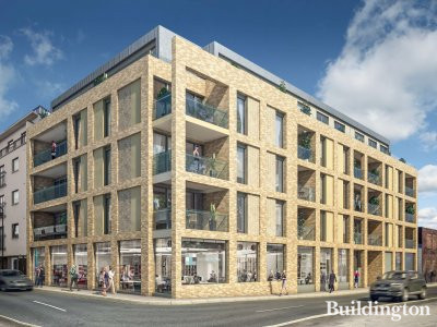 CGI of 20FOUR development at www.landviewproperties.co.uk