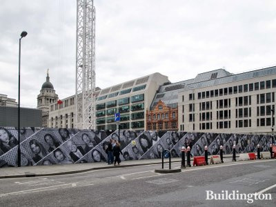 1&2 New Ludgate development site in October 2013.