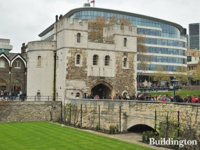 Tower of London - Back of Middle Tower