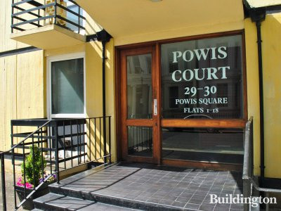 Entrance to Powis Court.