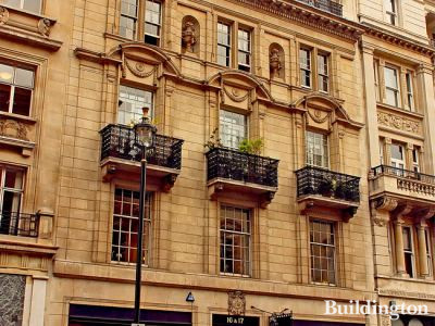 16-17 Pall Mall building