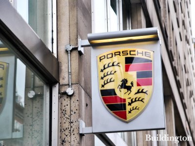 Porsche Centre Mayfair at Connaught House.