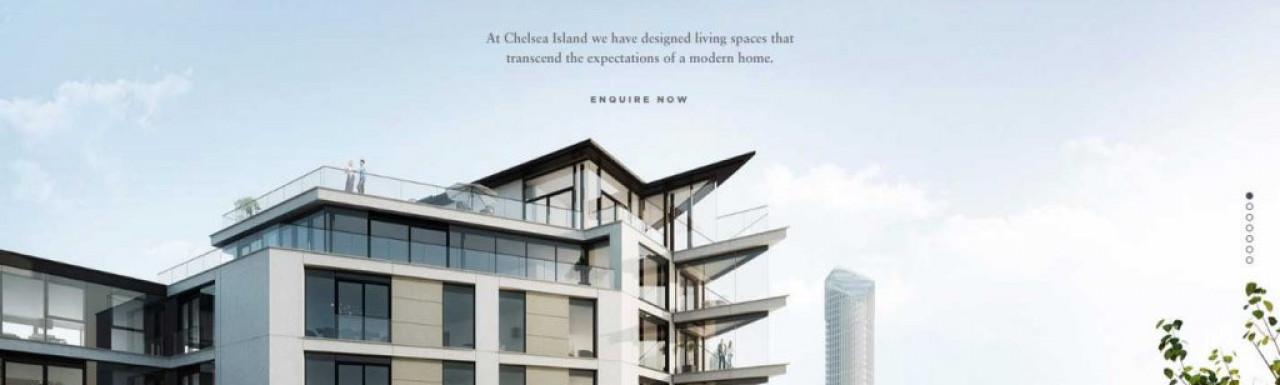 Chelsea Island development in Chelsea www.chelseaisland.com