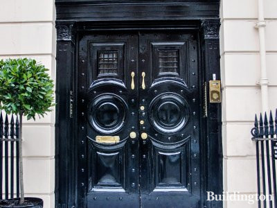 130 Harley Street entrance in 2014.