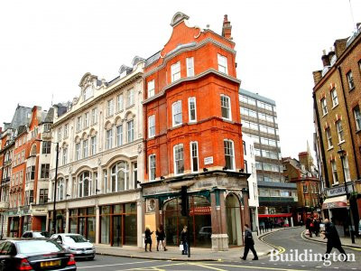 Tri development on Wigmore Street