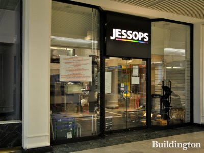 Camera chain Jessops have all closed after going into administration. The shop in Whiteleys on 17th of Januray 2013