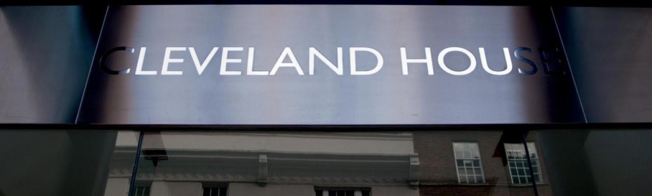 Cleveland house entrance.