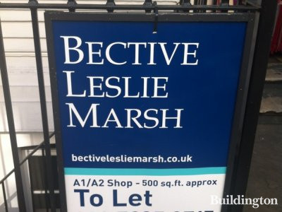 Bective Leslie Marsh advertises the A1/A2 shop at 9 Craven Terrace to let in September 2012