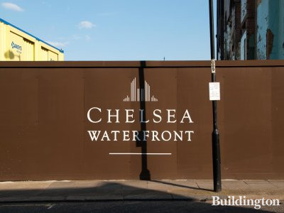 Chelsea Waterfront development on Lots Road in London, SW10.