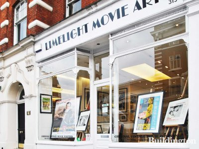 Limelight Movie Art at 313 King's Road.