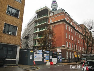 Ogle Street development in Fitzrovia