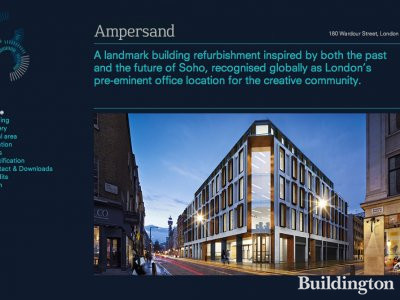 Screen capture of Ampersand website www.ampersandbuilding.com.