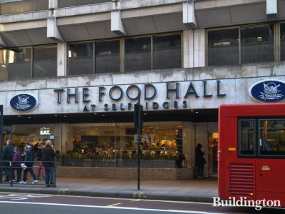 The Food Hall at Selfridges in 2014