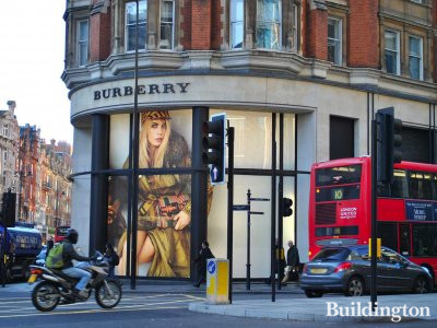 Burberry at Park Mansions in Knightsbridge.