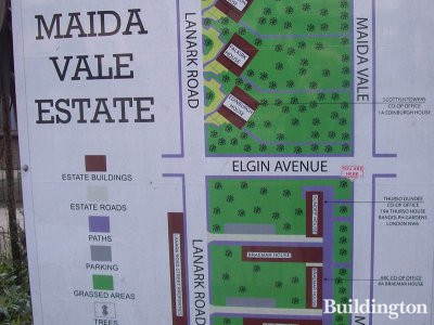 Edinburgh House at Maida Vale Estate (map).