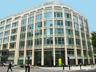 Rolls Building - View to the building from Fetter Lane