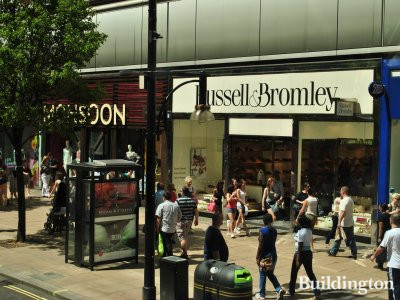 Retailers at Portman House include Russell & Bromley, Monsoon and New Look.