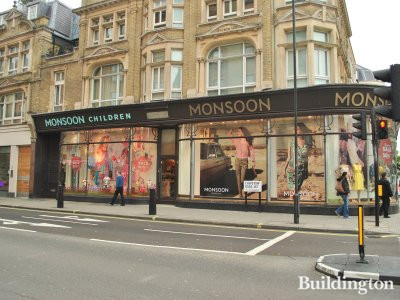 Monsoon at 112 Westbourne Grove
