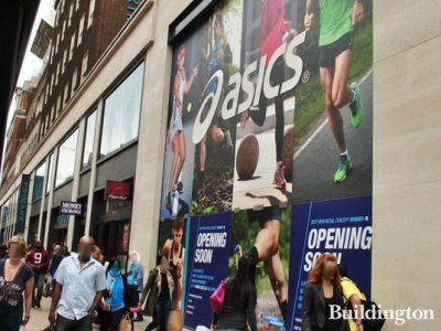 Asics is due to open a 7,000sq ft flagship store at 527 Oxford Street in the summer of 2012.