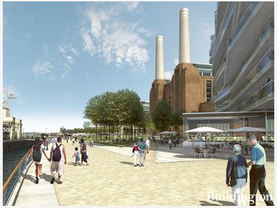 By the river. Rafael Viñoly masterplan of Battersea Power Station