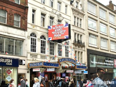 Vaudeville Theatre on Strand, London WC2.