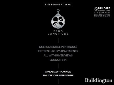 Screen capture of Zero Longitude development website at www.zero-longitude.co.uk