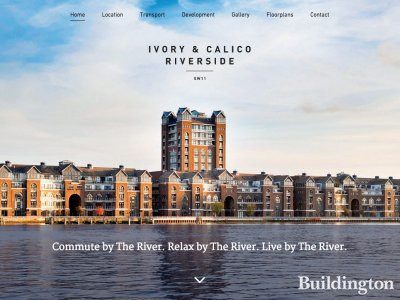 Ivory & Calico Riverside website in January 2016