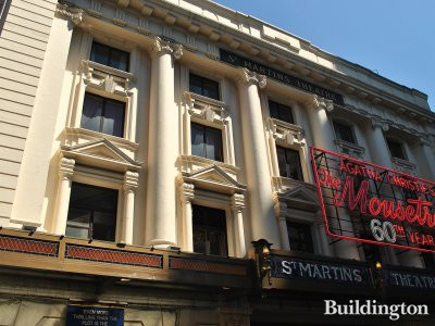 St. Martin's Theatre - playing The Mousetrap by Agatha Christie.