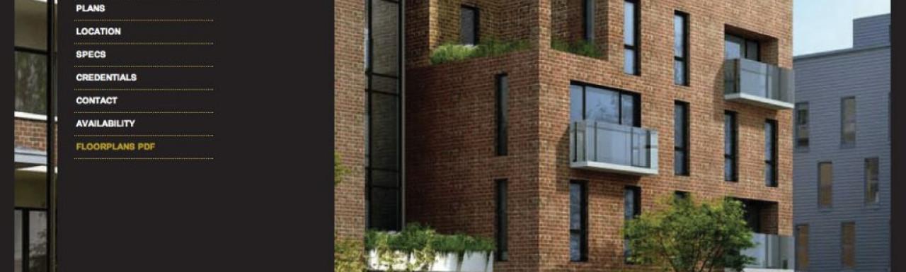 Screen capture of Canonbury Apartments website at canonburyapartments.co.uk