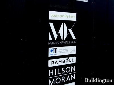 Companies at the 77 Mayfair development site.