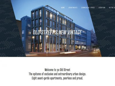 30 Old Street development website, screen capture