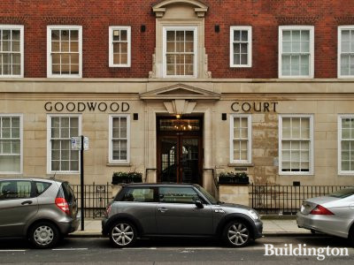 Entrance to Goodwood Court.