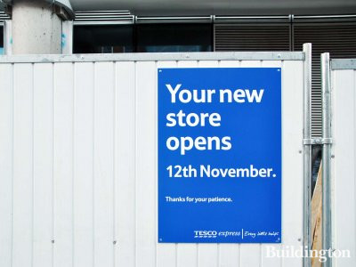 Tesco Express opens at One Commercial Street on 12th of November.