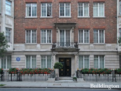 Weymouth House is a residential building in Marylebone, London W1.
