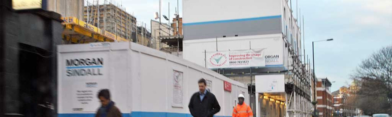 Pure Hammersmith development in March 2013