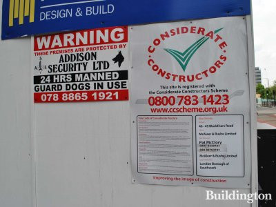 46-48 Blackfriars Road site is registered with the Considerate Construction Scheme.