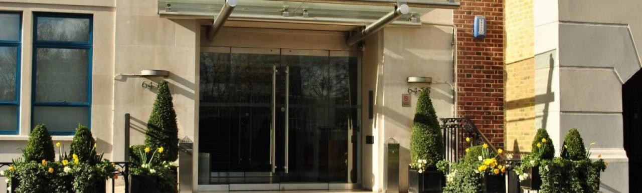 Entrance to 64-65 Vincent Square