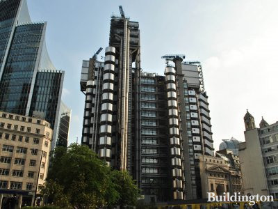 Lloyds Building - home of Lloyd's of London