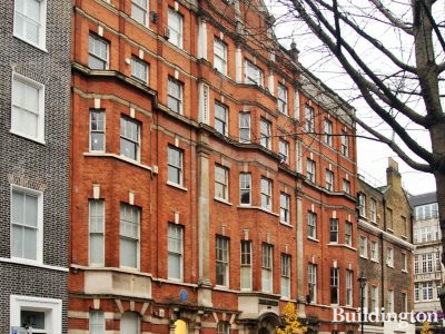 Natex House on Langham Street in Marylebone, London W1.
