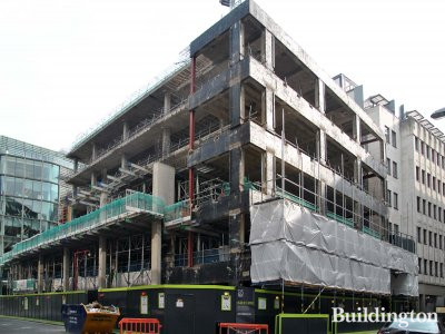 125 Wood Street development in September 2013.