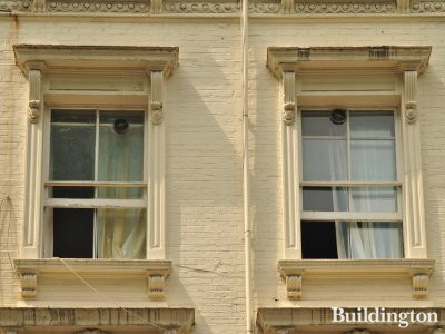 16 Queensborough Terrace second floor windows